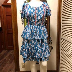 New eShatki Peplum Dress 18W